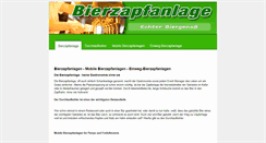 Preview of bierzapfanlage.info