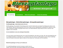 Tablet Preview of bierzapfanlage.info